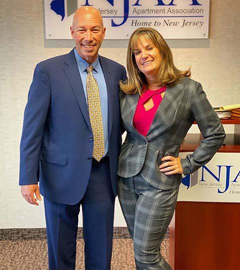 Jay Cohen and Jenel Marraccini